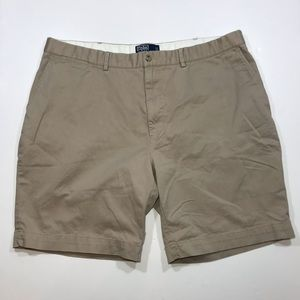 Men's Polo Ralph Lauren Khaki Prospect Shorts 42